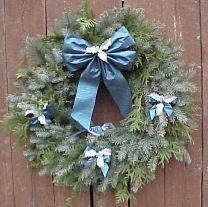 Blue Spruce Wreath